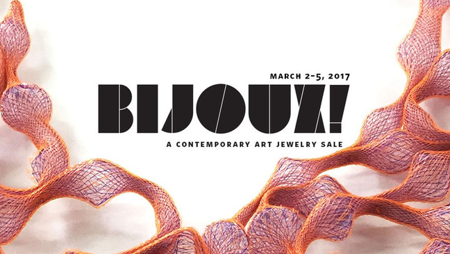 I will be participating at BIJOUX at the Norton Museum in West Palm Beach, Florida