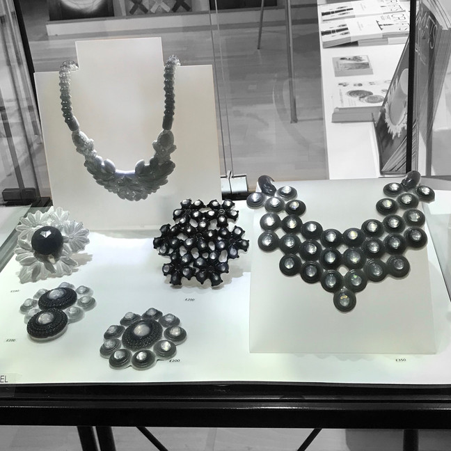 Nice display of my pieces at Studio Fusion Gallery in London