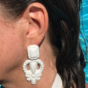 silicone earrings