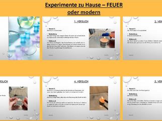 Experimente und Home-Learning? – Natürlich geht das!