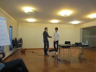 Bewerbungsgespräche erfolgreich führen - Besuch der R9b bei der Volksbank Raiffeisenbank Ingolstadt