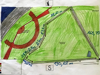 Schrittlänge des Klenzeparks