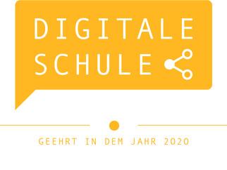 Ehrung als digitale Schule