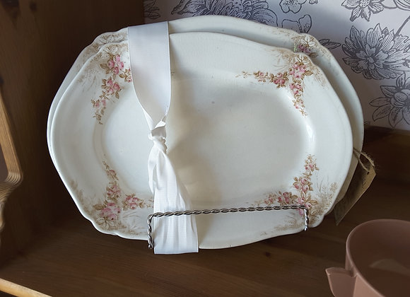 Antique Serving Platters