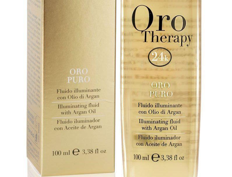 Fanola Oro Therapy Illuminating Fluid With Argan Oil, 100 ml