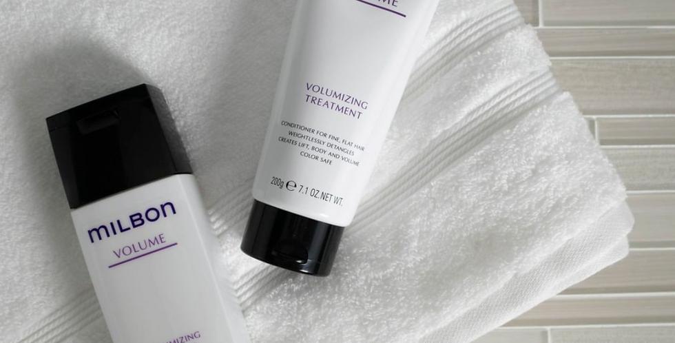 MILBON Volumizing Shampoo & Treatment 6.8oz/7.1oz