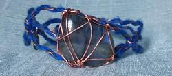 Labradorite Silk & Copper Bracelet