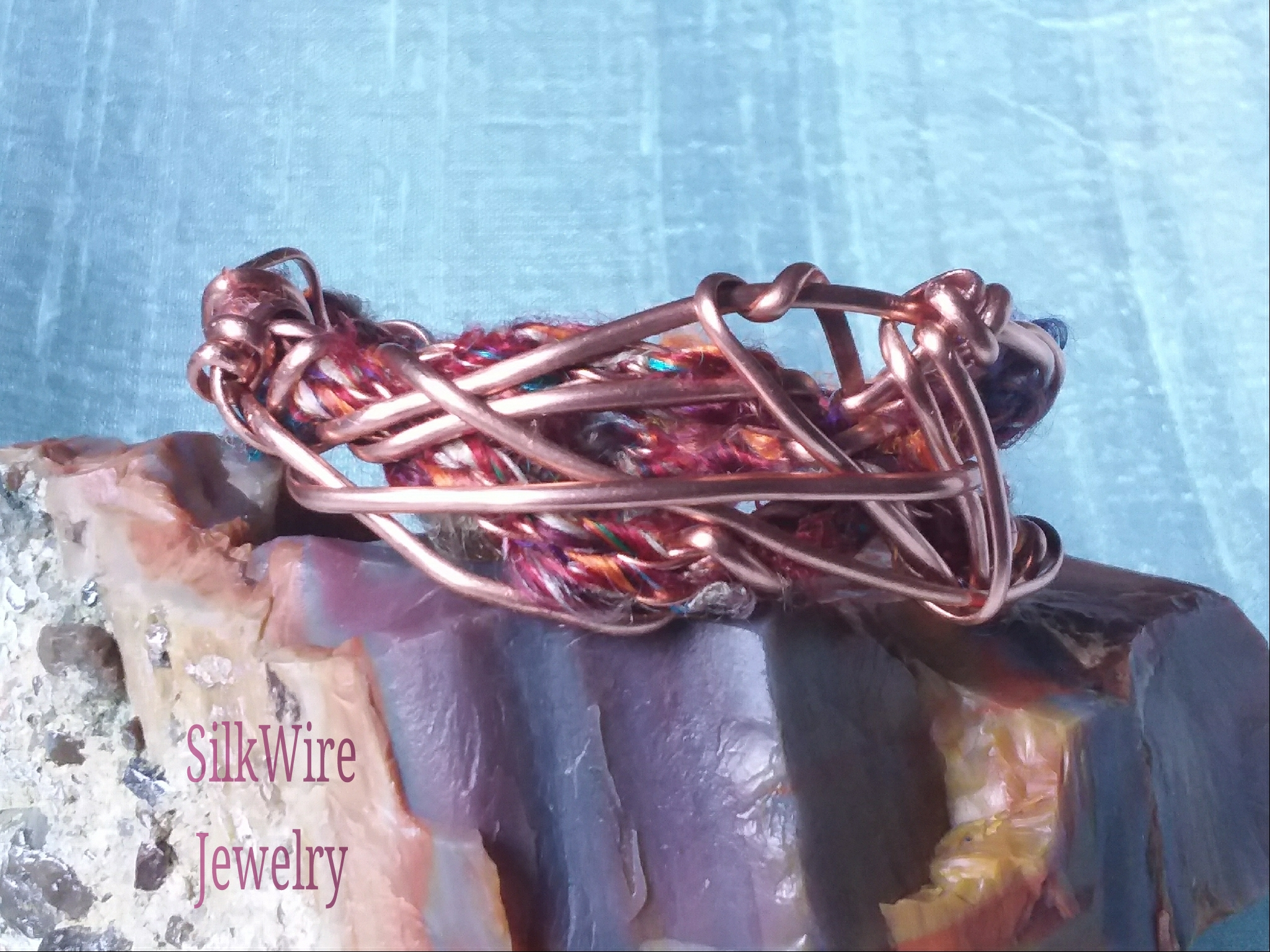 Copper Multi Silk Bracelet