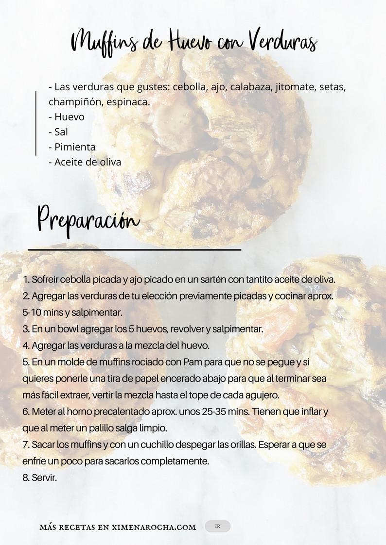 Muffins de Huevo con Verduras