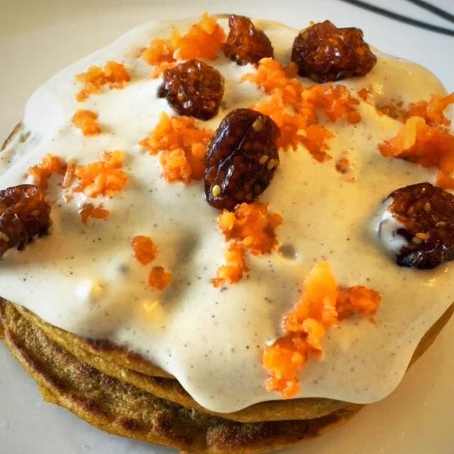 Panquecas de Zanahoria con Proteína