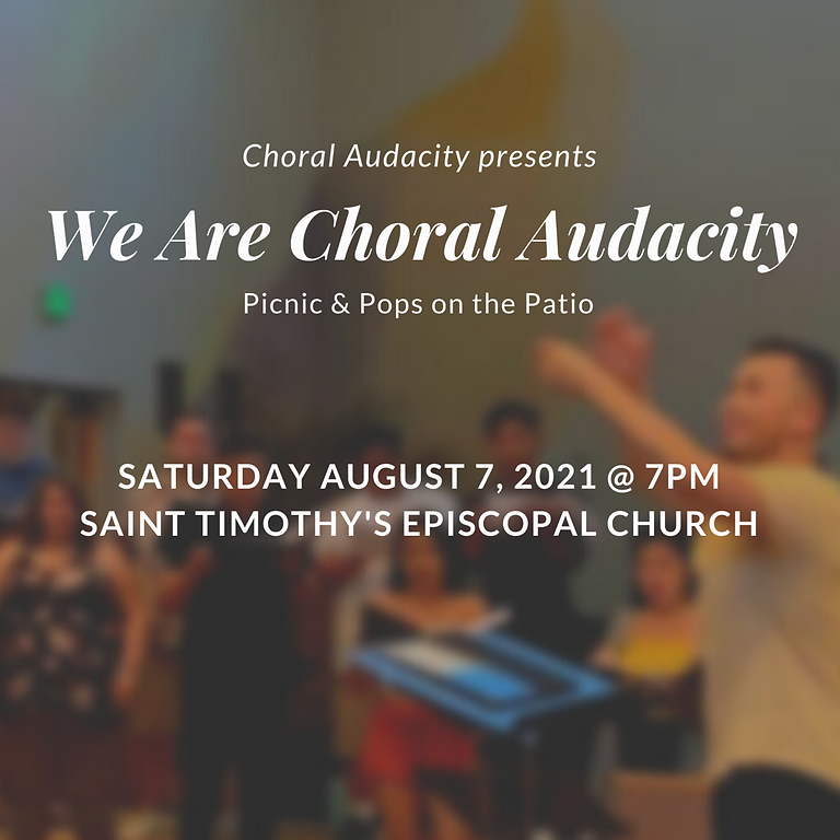 We Are Choral Audacity