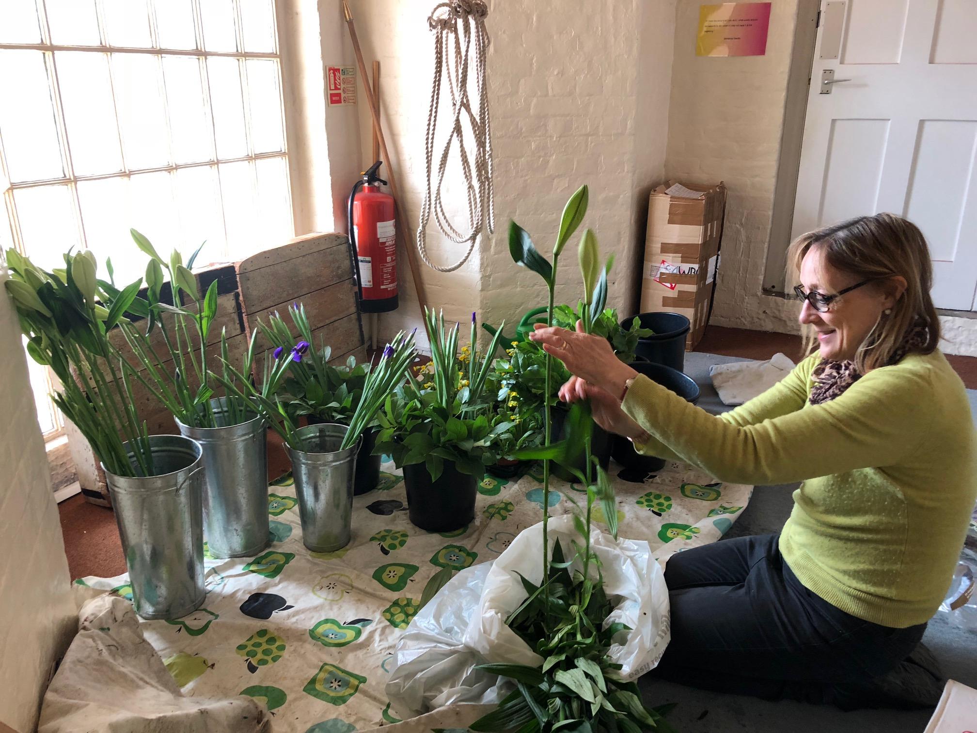 Floristry in the Belfry