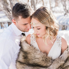 Airbrush Makeup | Winter Elopement
