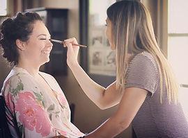 Katrina at work | Airbrush Makeup
