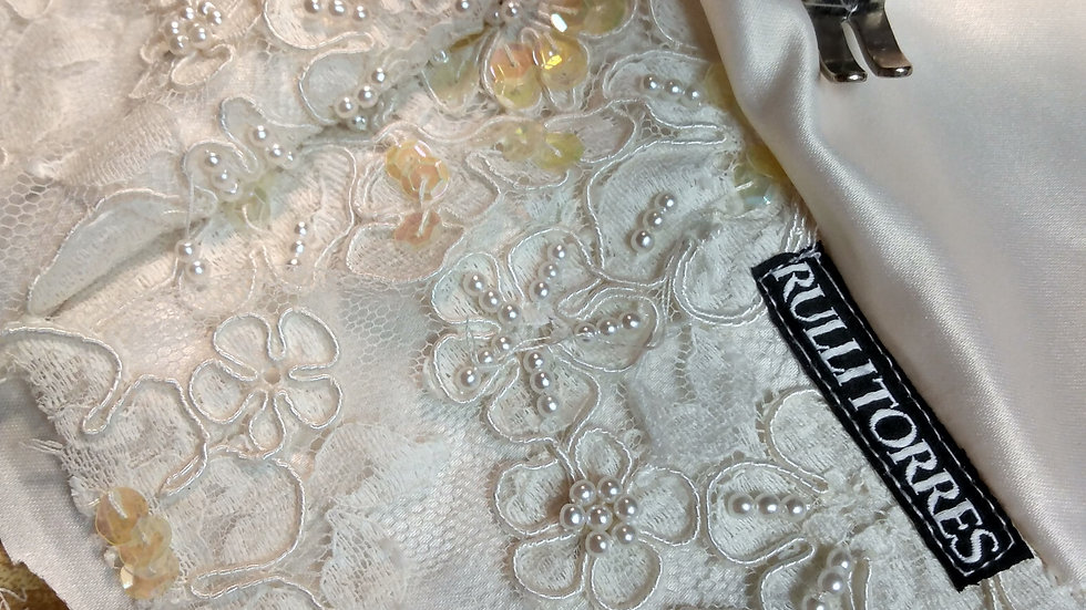 Ivory LUX Lace Bridal