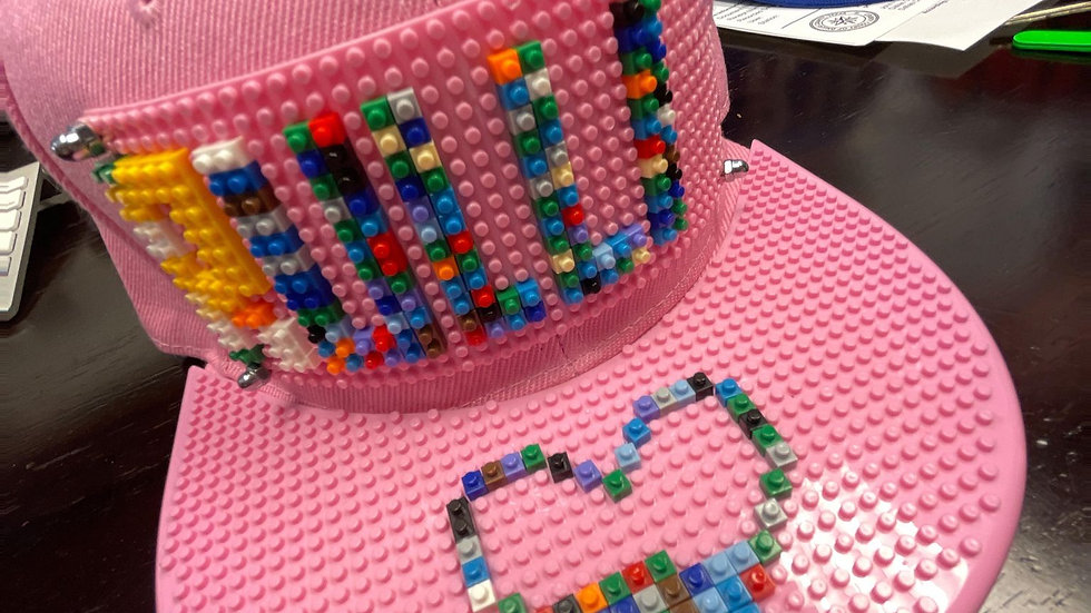 Custom LEGO Hat Order