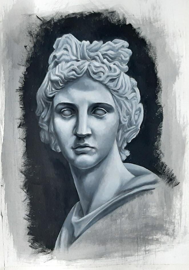 Estudo de escultura