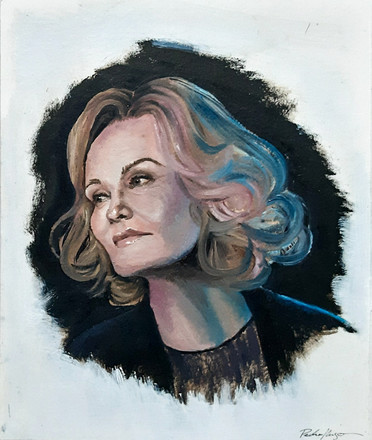sketch, Jessica Lange
