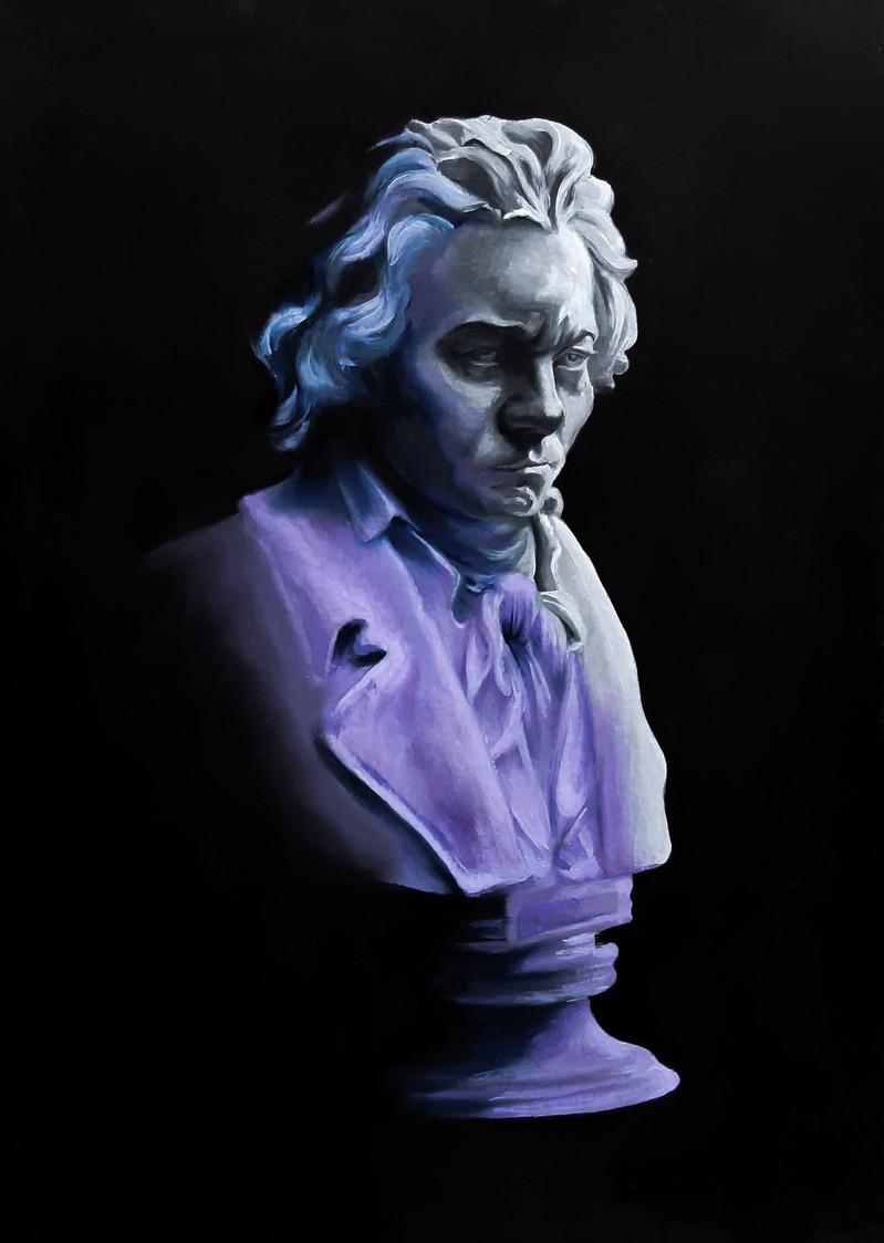 Busto cromático, Beethoven