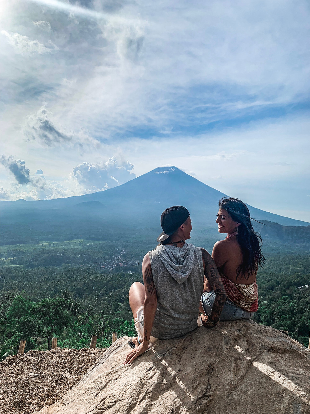 Mt Agung in Ubud, Bali | On Airplane Mode
