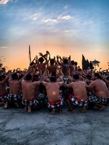 Kecak Fire Dance - Uluwatu, Bali   On Airplane Mode