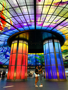 Dome of Light in Kaohsiung, Taiwan | On Airplane Mode