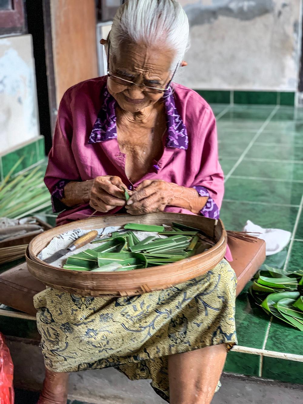 Grandma in Ubud, Bali | On Airplane Mode