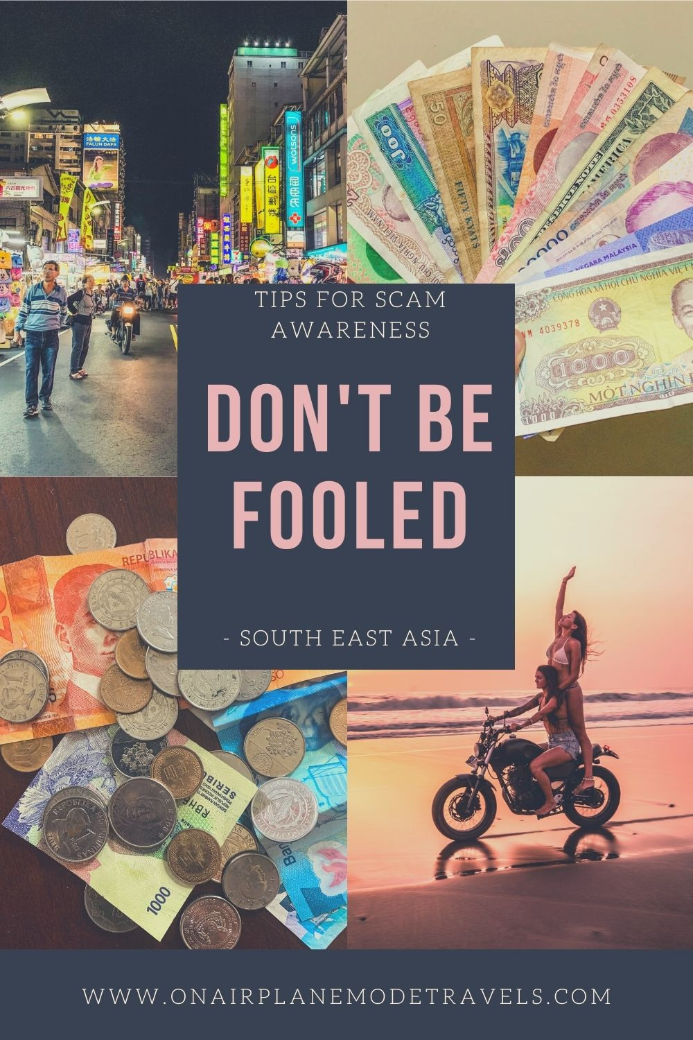 Don't Be Fooled | Guide on Scam Awareness in South East Asia | On Airplane Mode