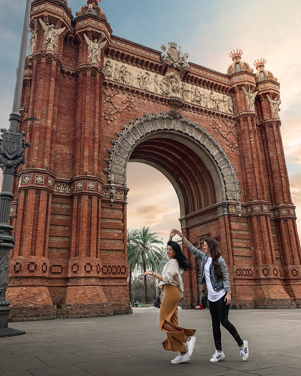 Arc de Triomf in Barcelona, Spain | On Airplane Mode