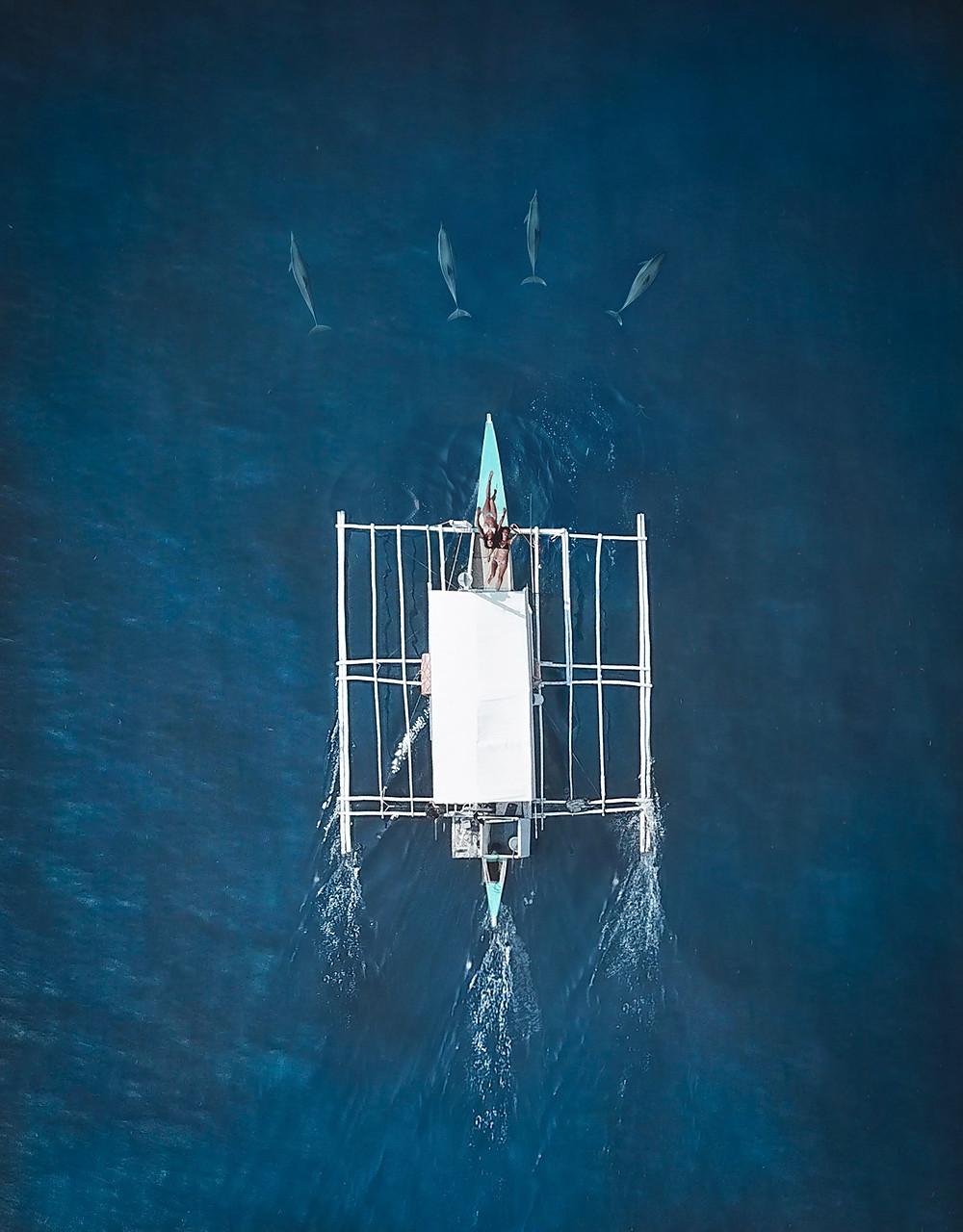 Dolphin Watching and Manjuyod Sandbar | On Airplane Mode