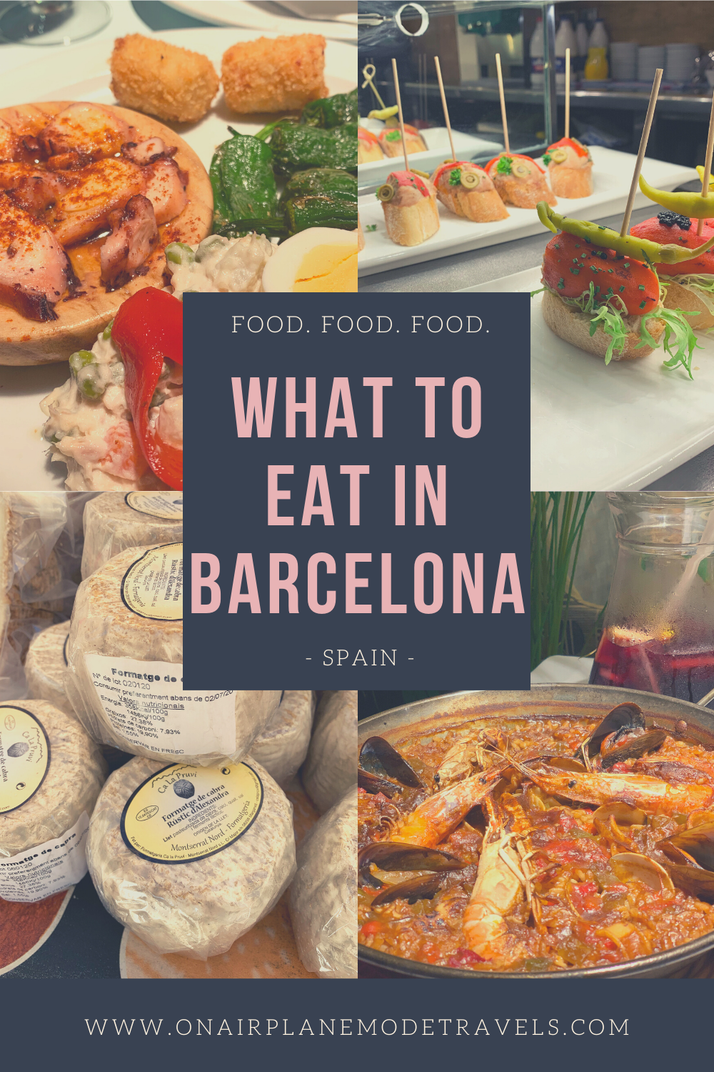 What to Eat in Barcelona | On Airplane Mode