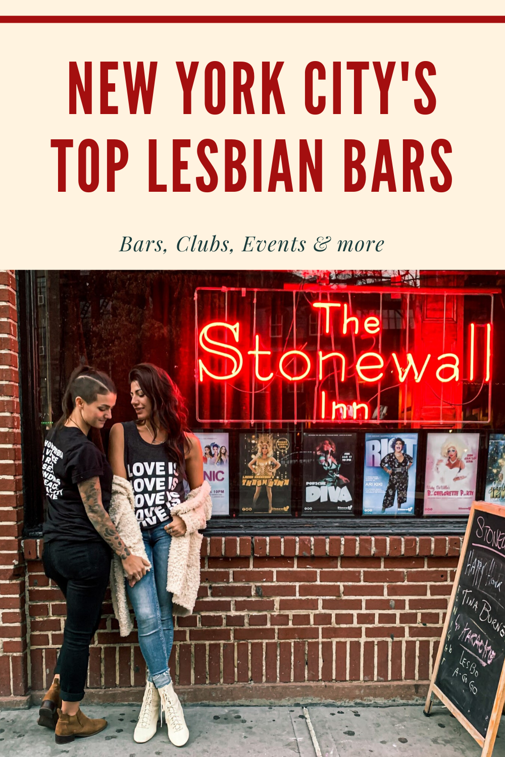 New York City's Top Lesbian Bars | On Airplane Mode