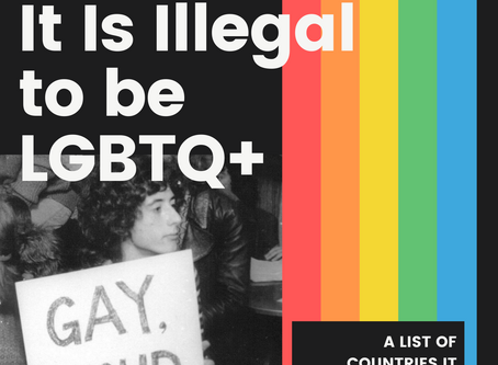 71 Countries it is Illegal to be LGBT+