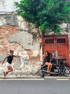 Penang Graffiti in Malaysia | On Airplane Mode