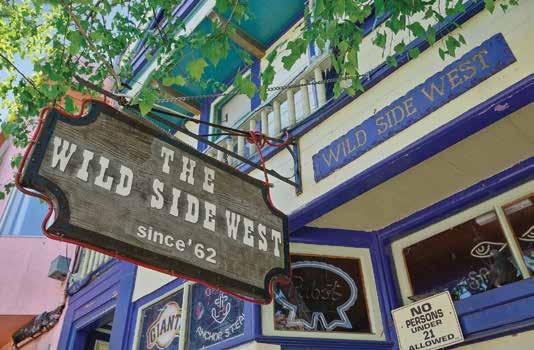 Wild Side West San Franciso Lesbian Bar | On Airplane Mode