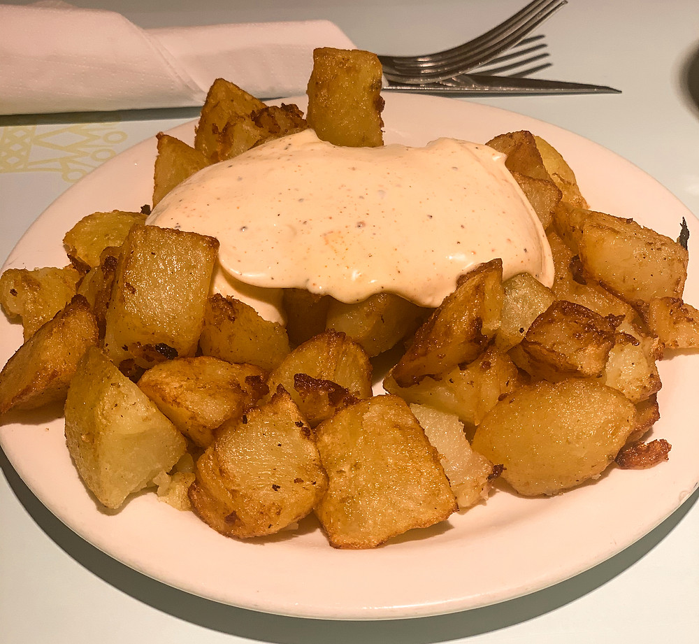 Potatas Bravas in Barcelona | On Airplane Mode