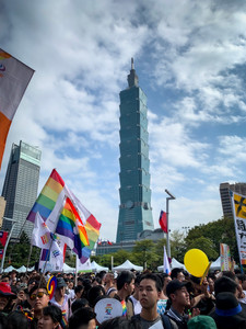 Taiwan Gay Pride - Our Experience | On Airplane Mode