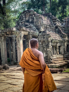 Monk in Cambodia | On Airplane Mode