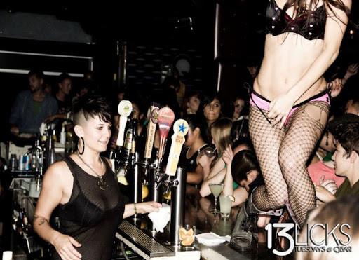 Q Bar - Lesbian Night in San Francisco | On Airplane Mode