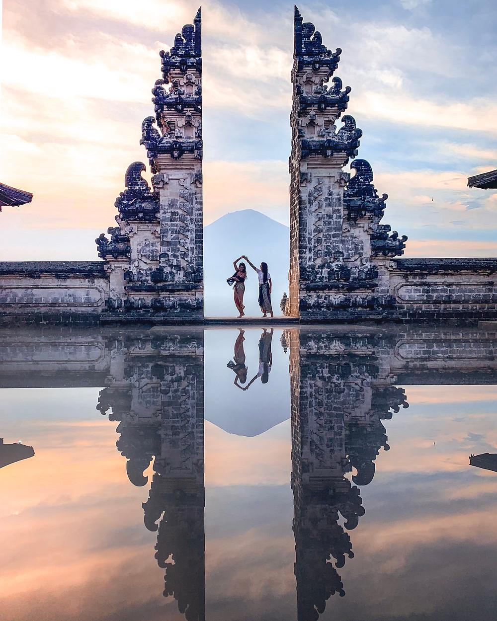 Gates of Heaven in Ubud, Bali | On Airplane Mode