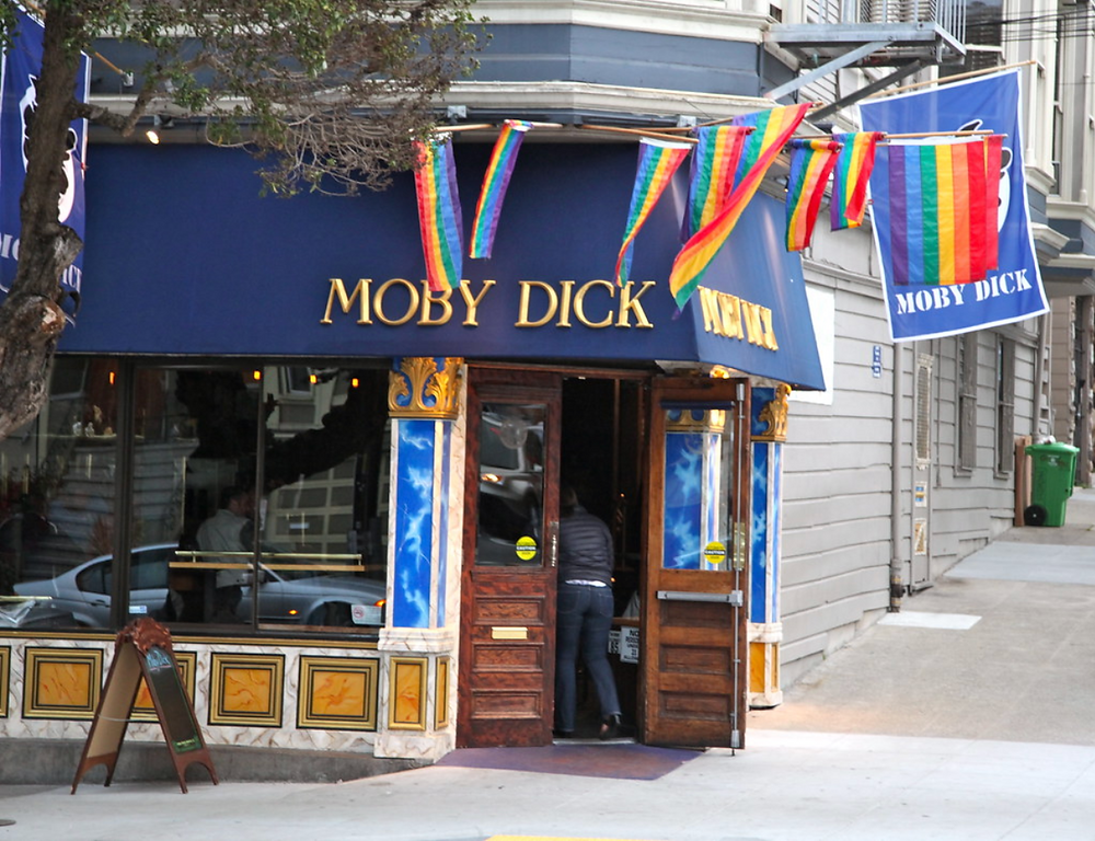 Moby Dick - Queer Bar in San Francisco | On Airplane Mode
