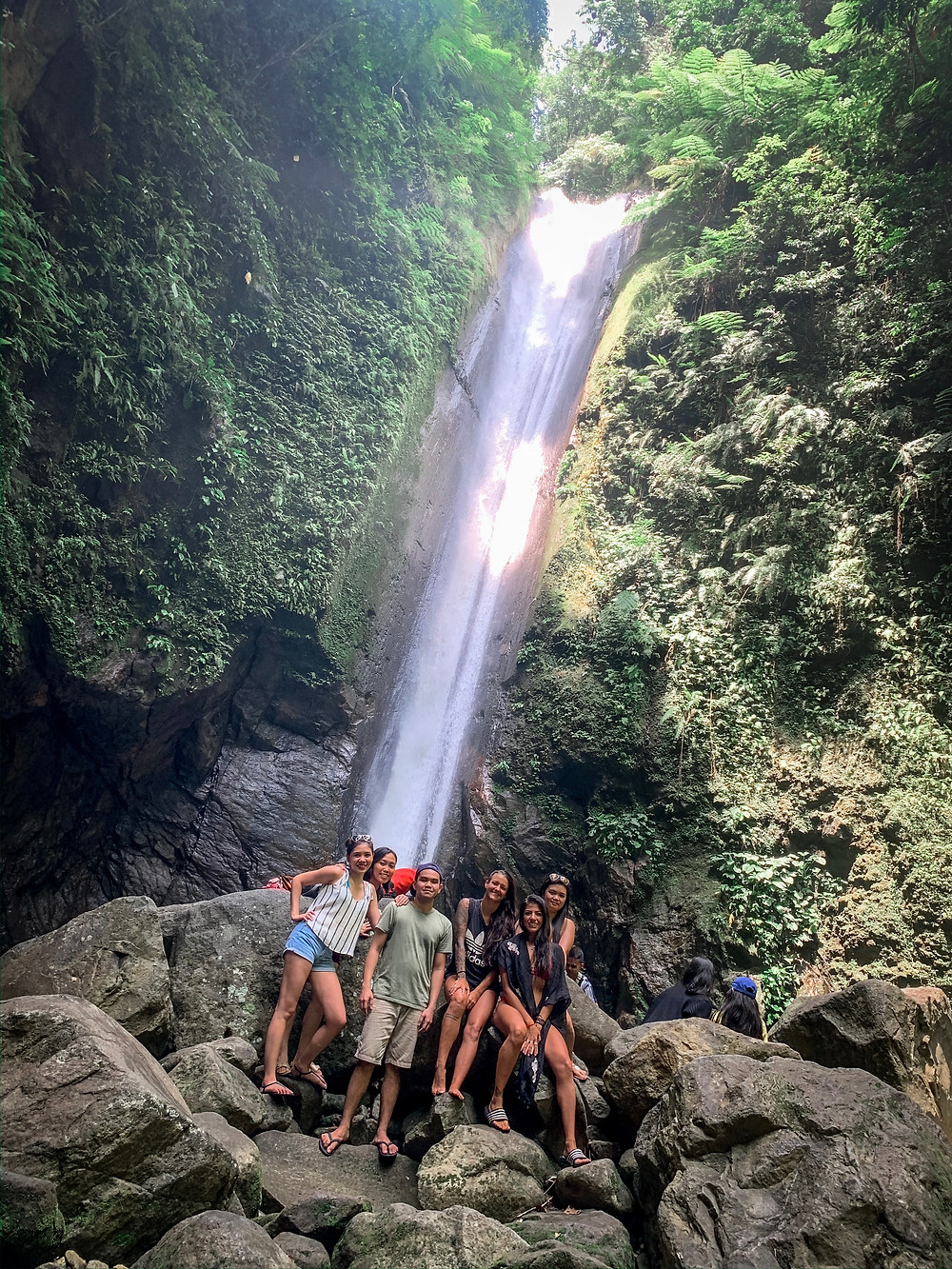 Hanging with the Locals at Casaroro Falls | On Airplane Mode