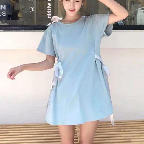 Ribbon T Shirt Dress