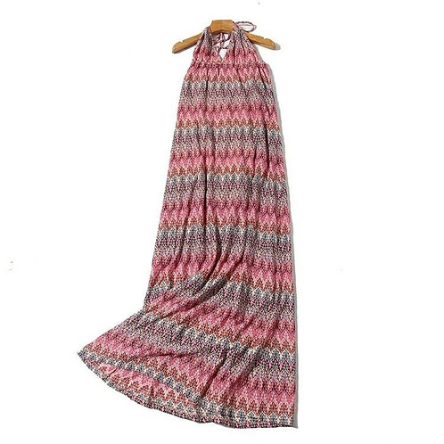 Halter Maxi Beach Dress