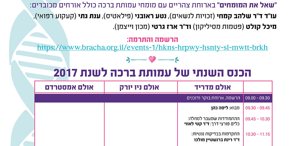 The Bracha Annual Medical Conference (1)