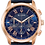 Thumbnail: Bulova Wilton SS Rose Gold Blue Dial 97B170 Watch