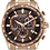 Thumbnail: Citizen PCAT Eco-Drive Rose Gold Brown AT4106-52X Watch
