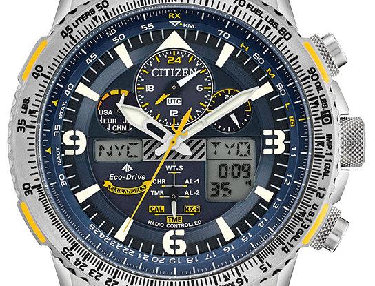 Citizen Men's Promaster Skyhawk A-T Eco-Drive Blue Angels JY8101-52L Watch