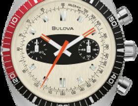 Bulova Chronograph A SS Silver Tone 98A252 Watch