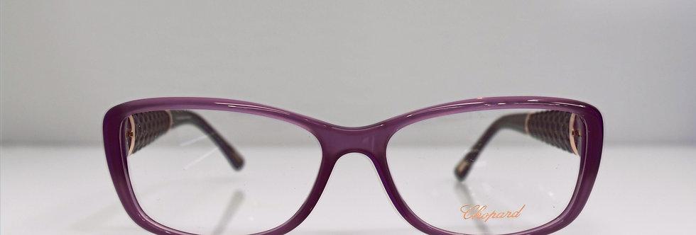 Chopard Purple 23KT Gold Plated VCH119 0903 Eyeglasses